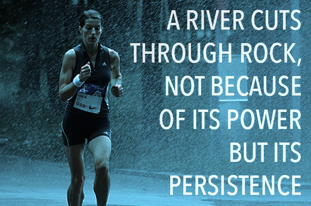 Persistence Pays Off Motivational Quotes: Persistence Pays, But...